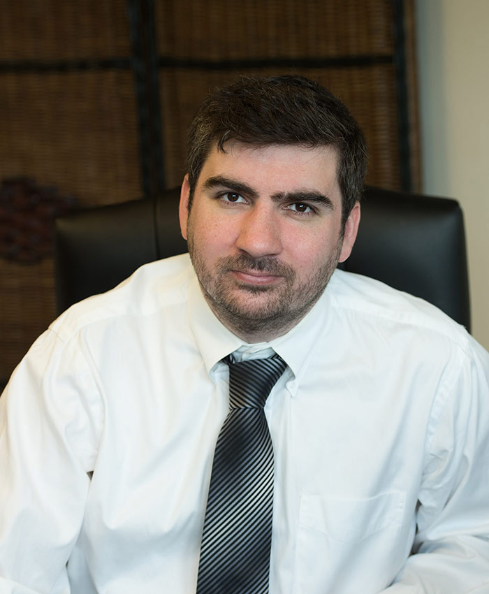 Andrew Gannon, associate lawyer working in civil litigation at Affolter Gannon personal injury lawyers